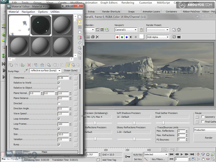Create_Ice_Landscape_With_Mentalray_And_Texture_P02_2