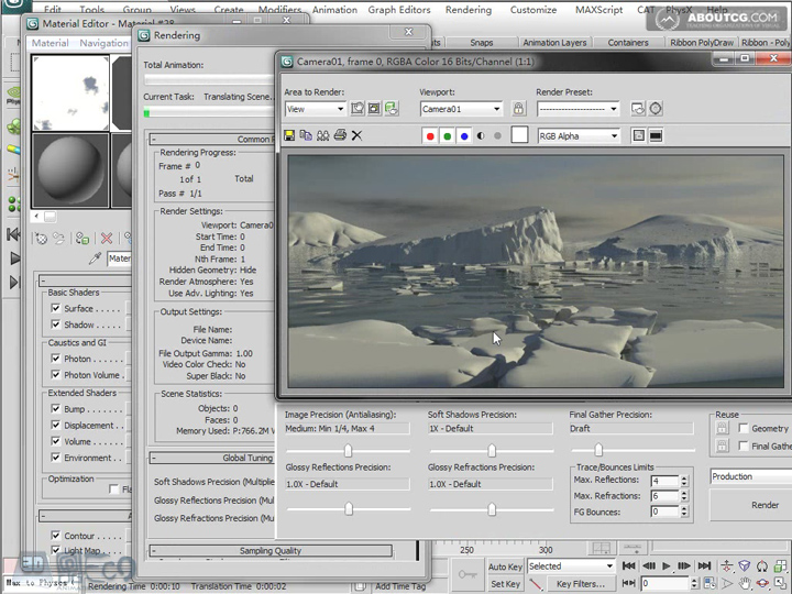 Create_Ice_Landscape_With_Mentalray_And_Texture_P02_4