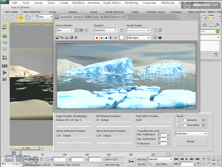Create_Ice_Landscape_With_Mentalray_And_Texture_P03_4