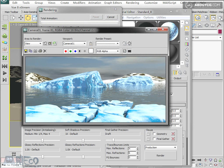 Create_Ice_Landscape_With_Mentalray_And_Texture_P04_4