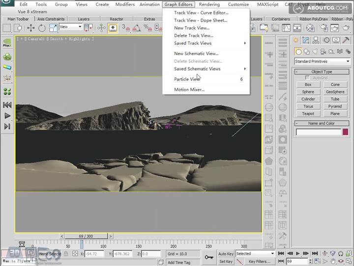 Create_Ice_Landscape_With_Mentalray_And_Texture_P05_1