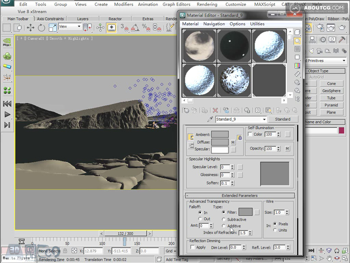 Create_Ice_Landscape_With_Mentalray_And_Texture_P05_2