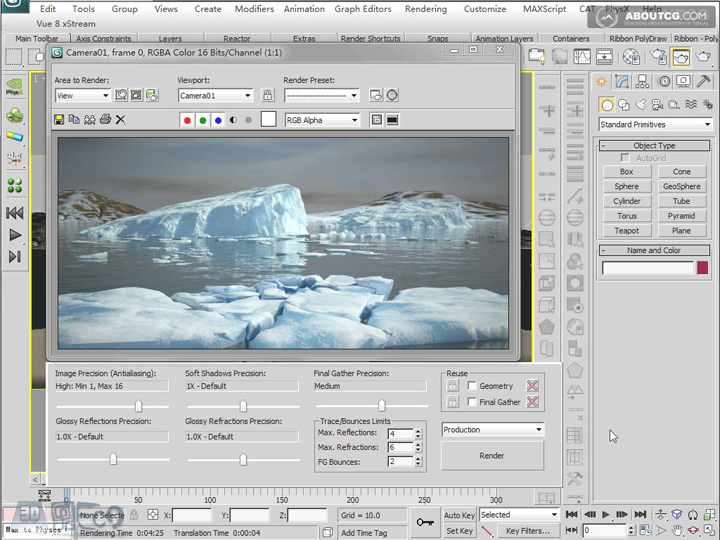 Create_Ice_Landscape_With_Mentalray_And_Texture_P05_4